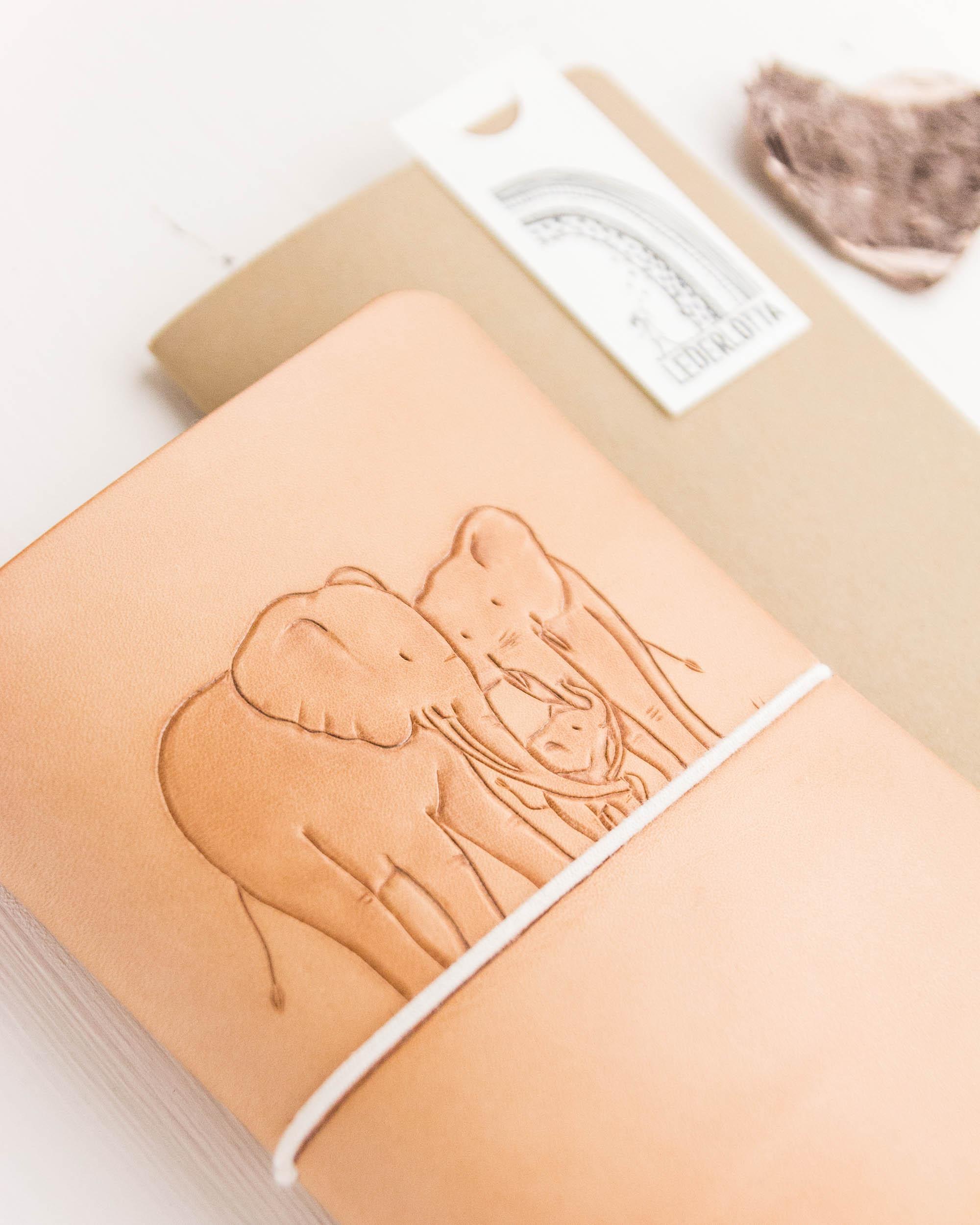 Mutterkindpasshülle Elefanten