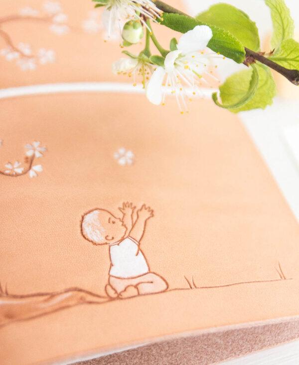 Mutterkindpasshülle Sakura Blümchen