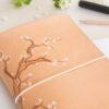 A5 Notizbuchhülle Sakura Blümchen