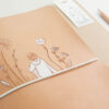 A5 Notizbuchhülle Blumenmädchen