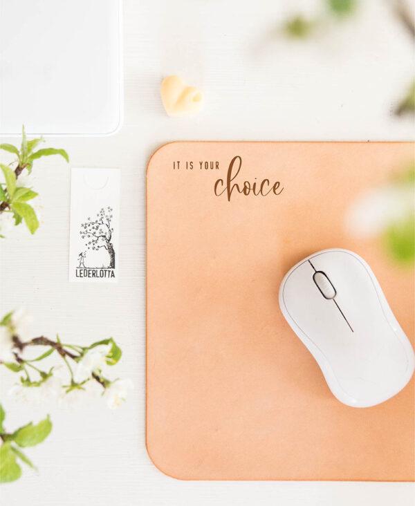 Mousepad Handlettering Doublefont